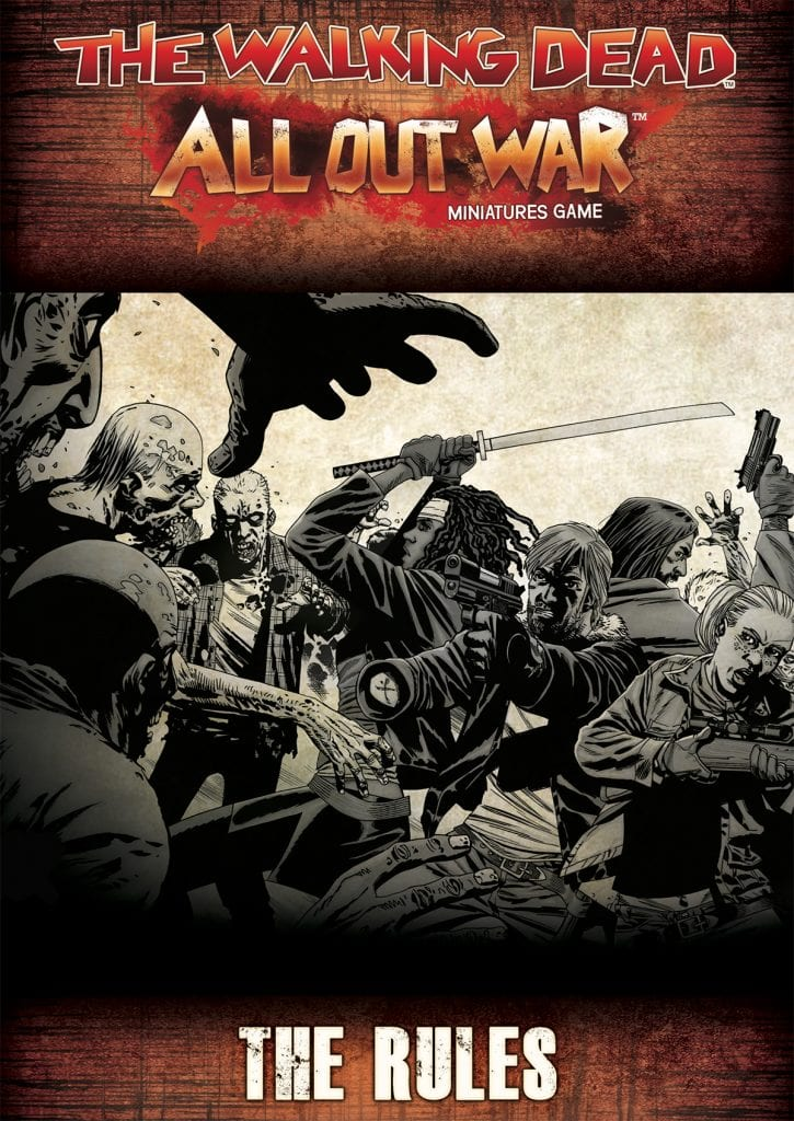 The Walking Dead: All Out War Rulebook Digital