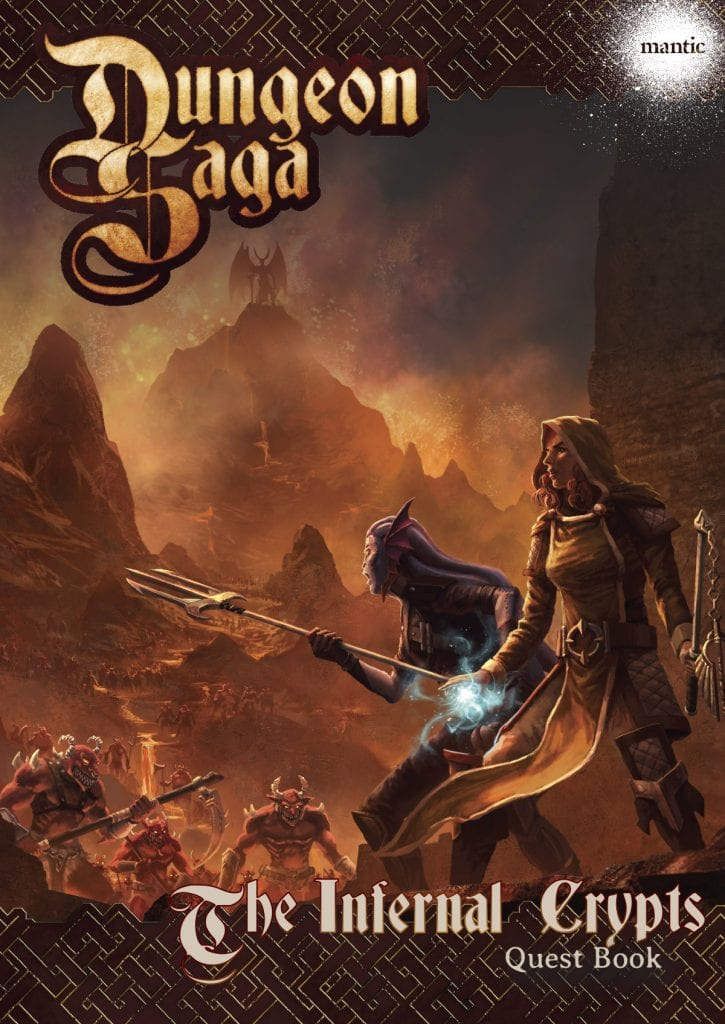 Dungeon Saga: Infernal Crypts Adventure Pack Digital