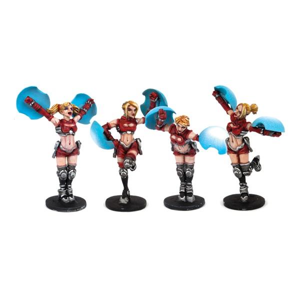 Denton Dazzlers Cheerleaders (4)
