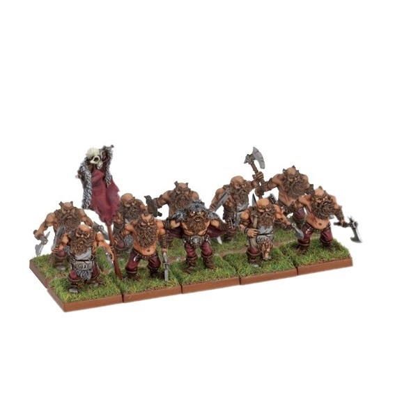 Dwarf Berserker Troop with Command