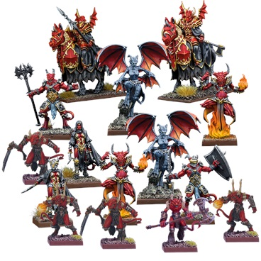 Abyssal Warband Set