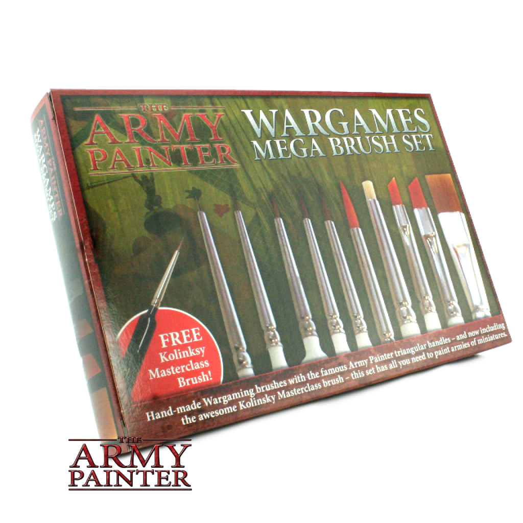 Army Painter Mega Brush Set (box)