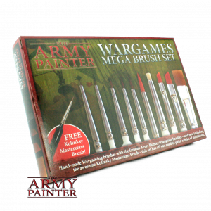 Army Painter Mega Brush Set (box)