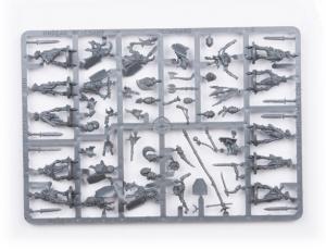 Plastic Frame Undead Revenant Command Troop