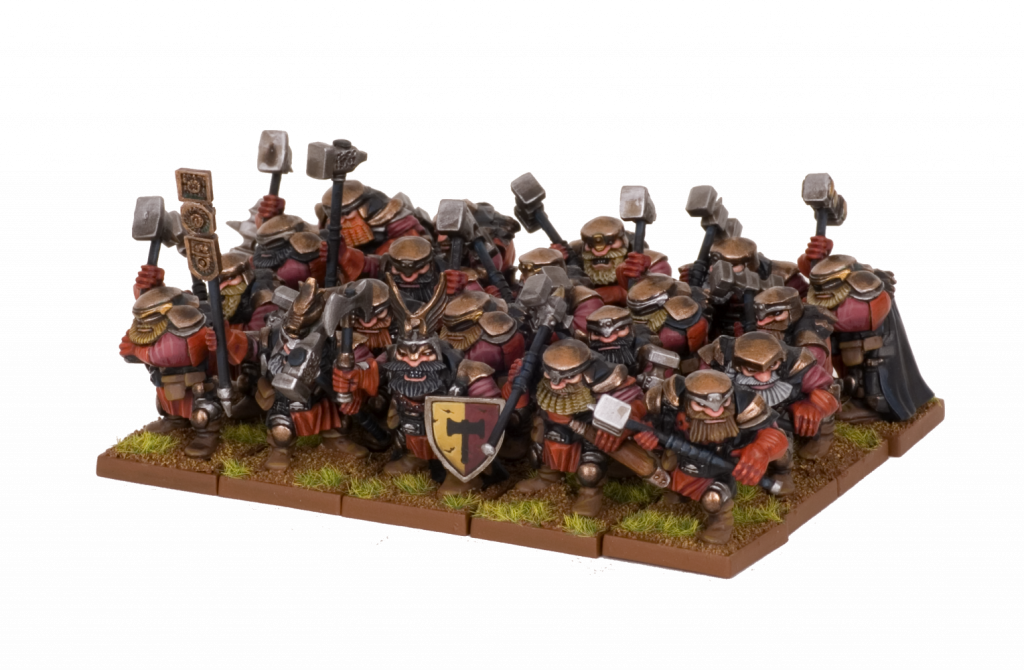 Dwarf Shieldbreaker Regiment
