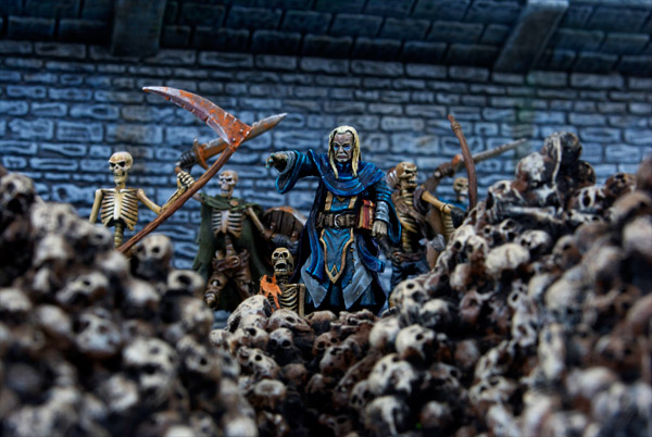 Mortibris and his undead army