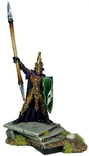 Elf King (with spear)