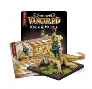 Kuzlo and Madfall Mercenary Booster
