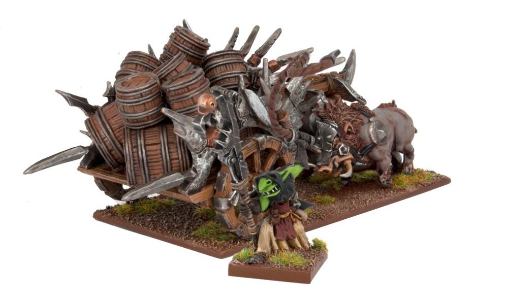 Ogres Red Goblin Blaster