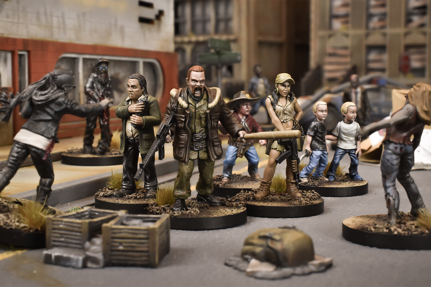 The Walking Dead All Out War Wave Five Mantic Games