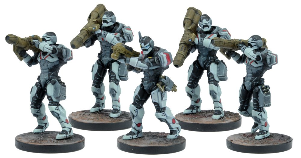Enforcer Heavy Support Team