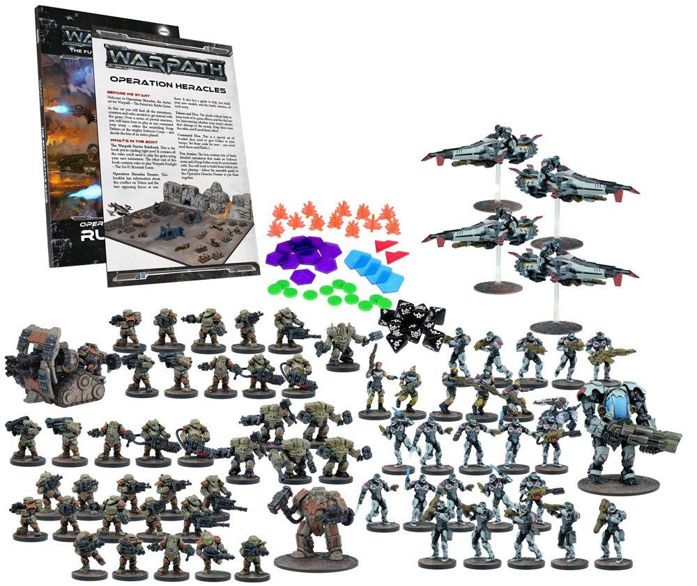 Warpath: Operation Heracles Two Player Mega Battle Set