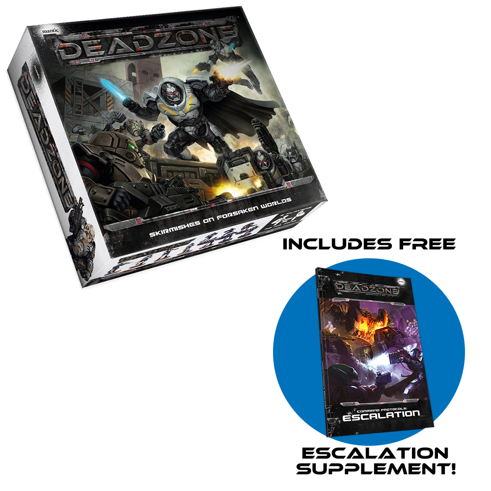 Deadzone 2nd Edition Starter with FREE Escalation supplement