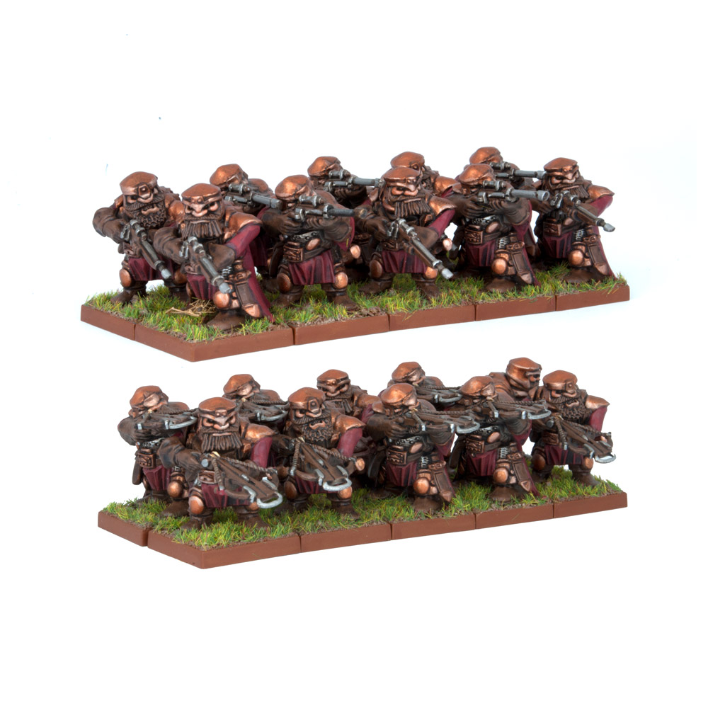 Dwarf Ironwatch Regiment