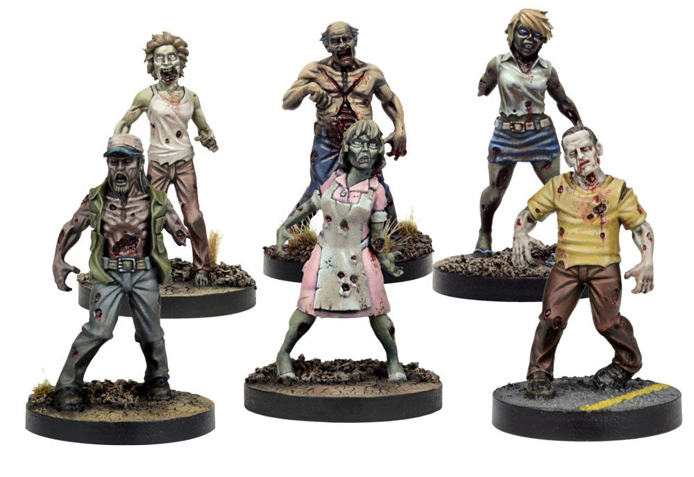 It S All Out War At Gencon As The Walking Dead Miniatures Game Breaks Out Mantic Games
