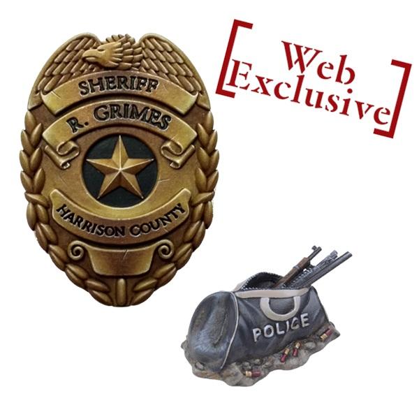 10 Mantic Points Model Badge & Guns