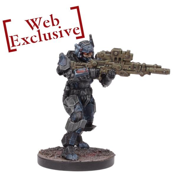 15 Mantic Points Alternate Lt. Commander Roca