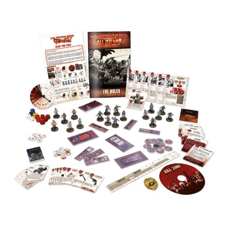 The Walking Dead: All Out War Miniatures Game Core Set - Mantic Games
