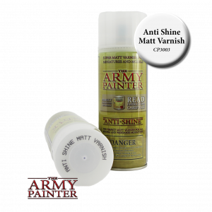 Army Painter Base Primer AntiShine Matt Varnish