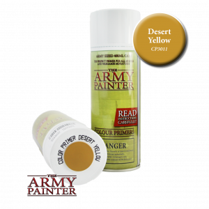 Army Painter Colour primer Desert Yellow