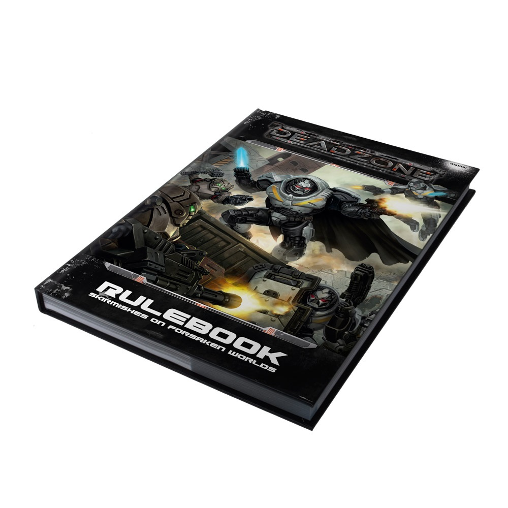 Deadzone 2nd Edition HardBack Rulebook