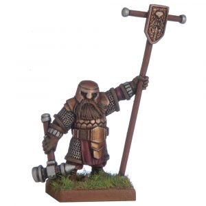 Dwarf Army Standard Bearer