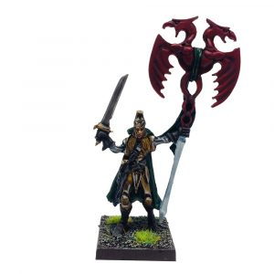 Elf Army Standard Bearer