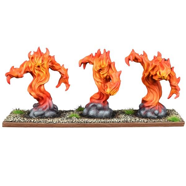 Forces of Nature Fire Elemental Regiment
