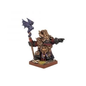 Abyssal Dwarf Ghenna, Keeper of the Black Flame