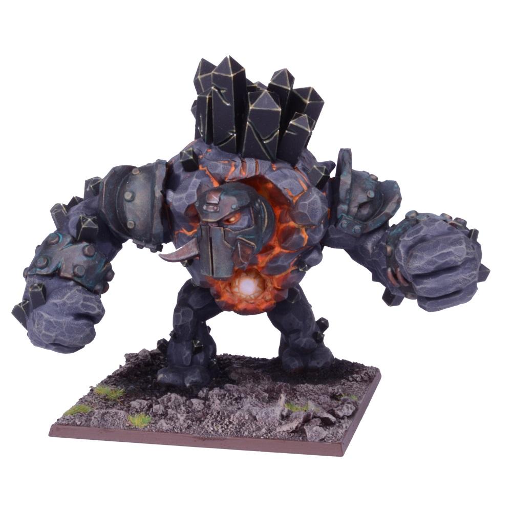 Abyssal Dwarf Greater Obsidian Golem