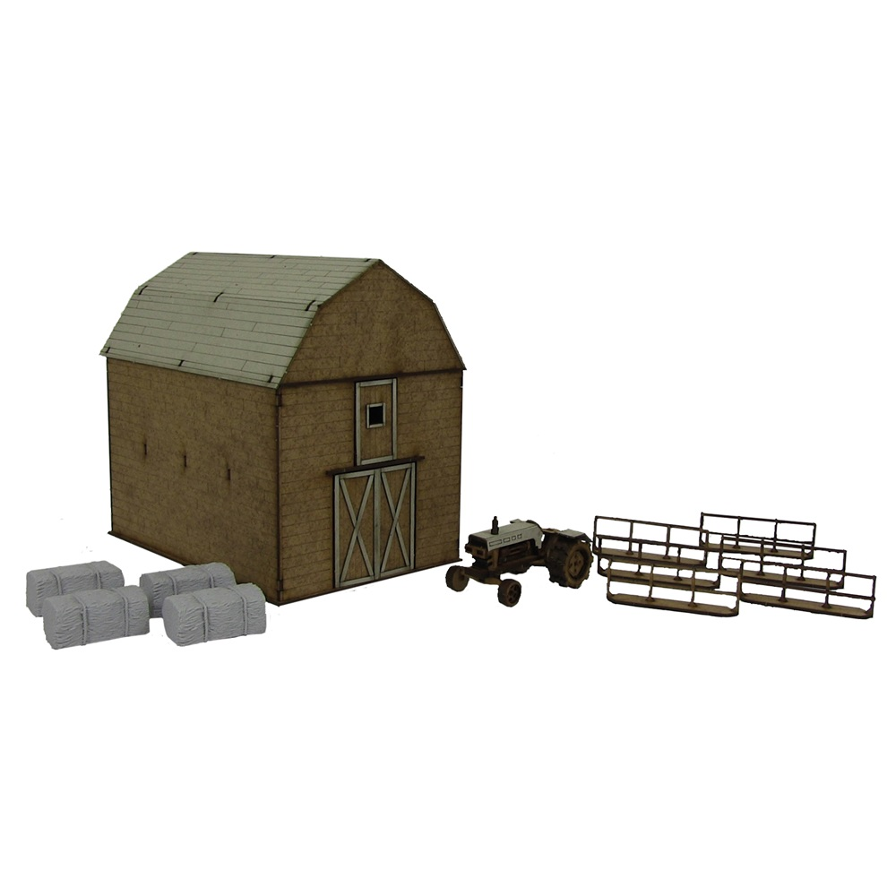 The Walking Dead Greene Family Farm Scenery Kit