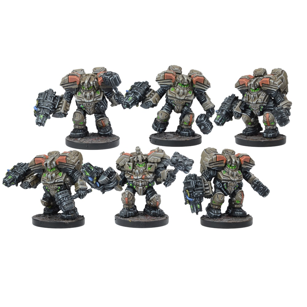 Forge Fathers Hammerfist Drop Team