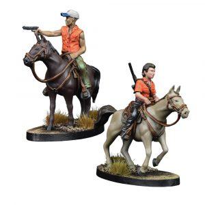 Maggie and Glenn on Horseback