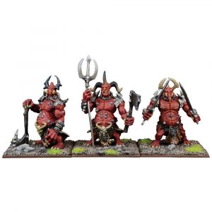 Forces of the Abyss Moloch Regiment