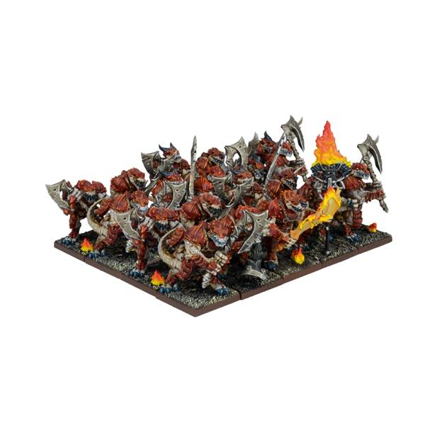 Forces of Nature Salamander Regiment