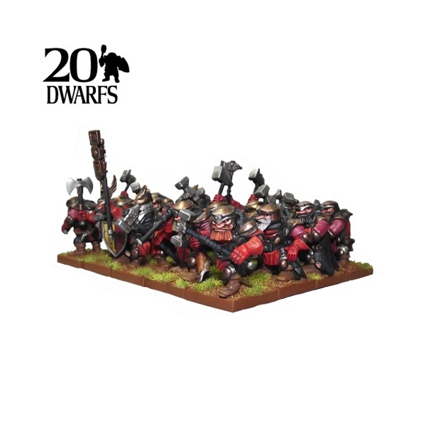 Dwarf Shieldbreaker Regiment