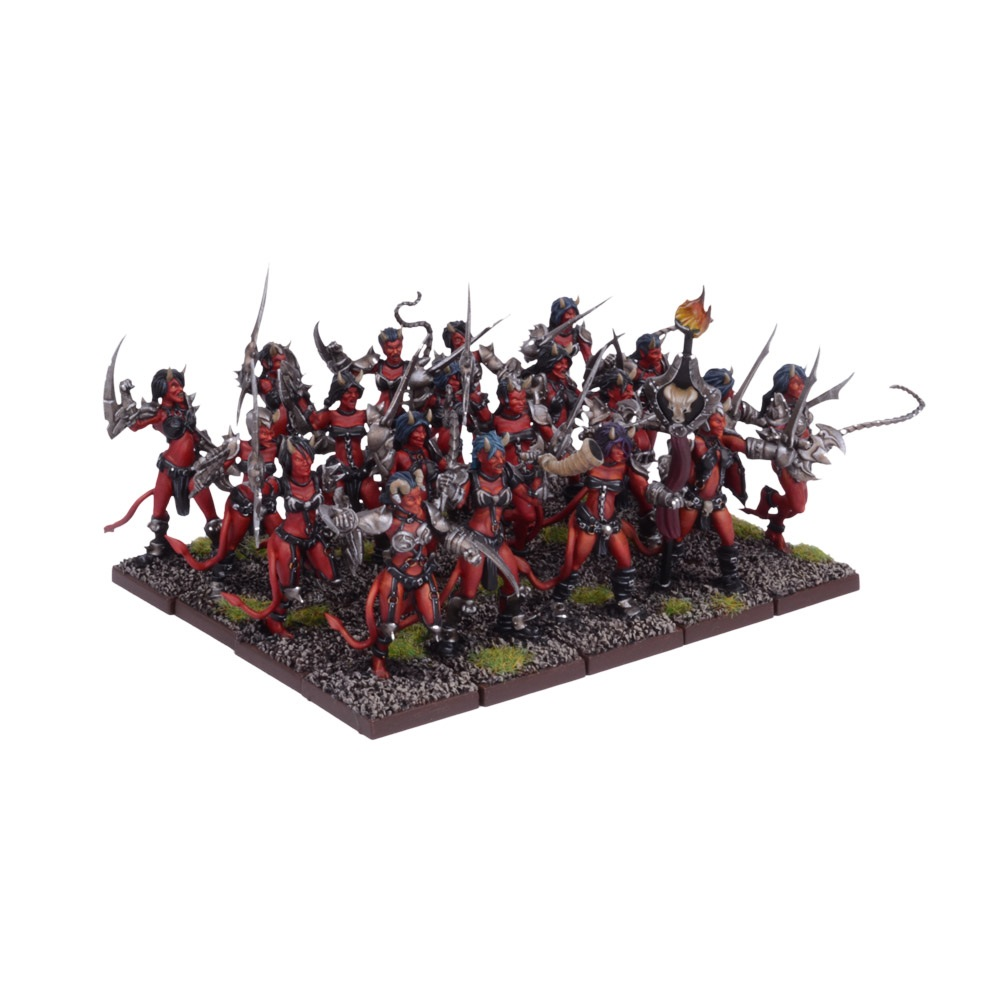 Forces of the Abyss Succubi Regiment