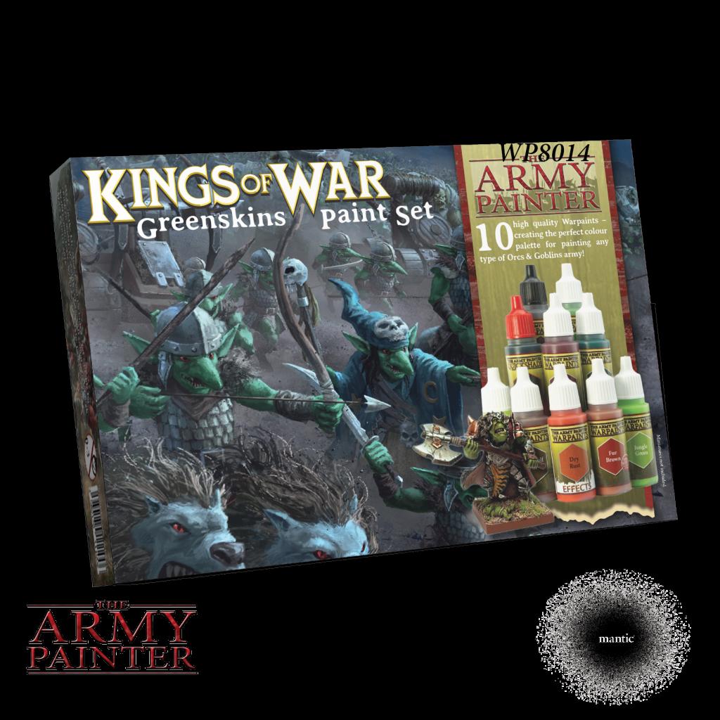 Army Painter Warpaints Greenskins Paint Set