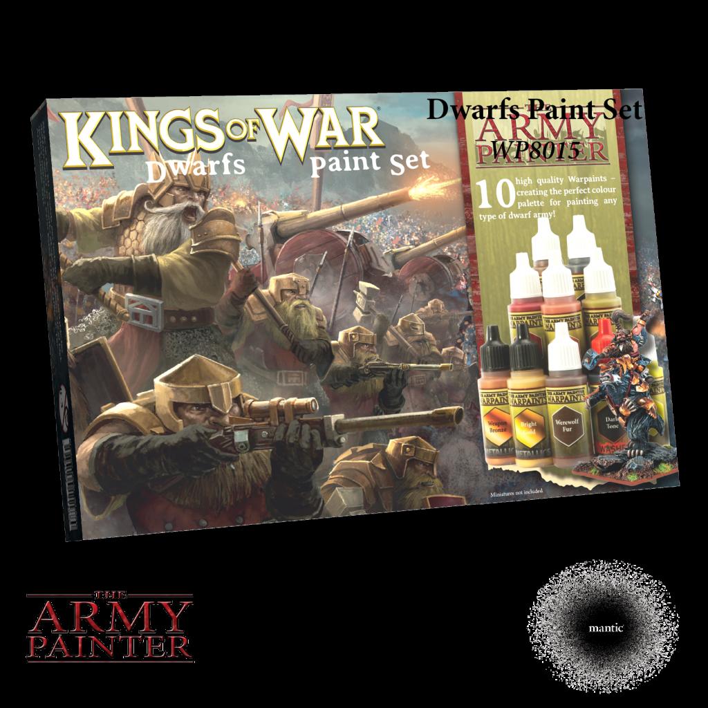 Army Painter Warpaints Dwarfs Paint Set