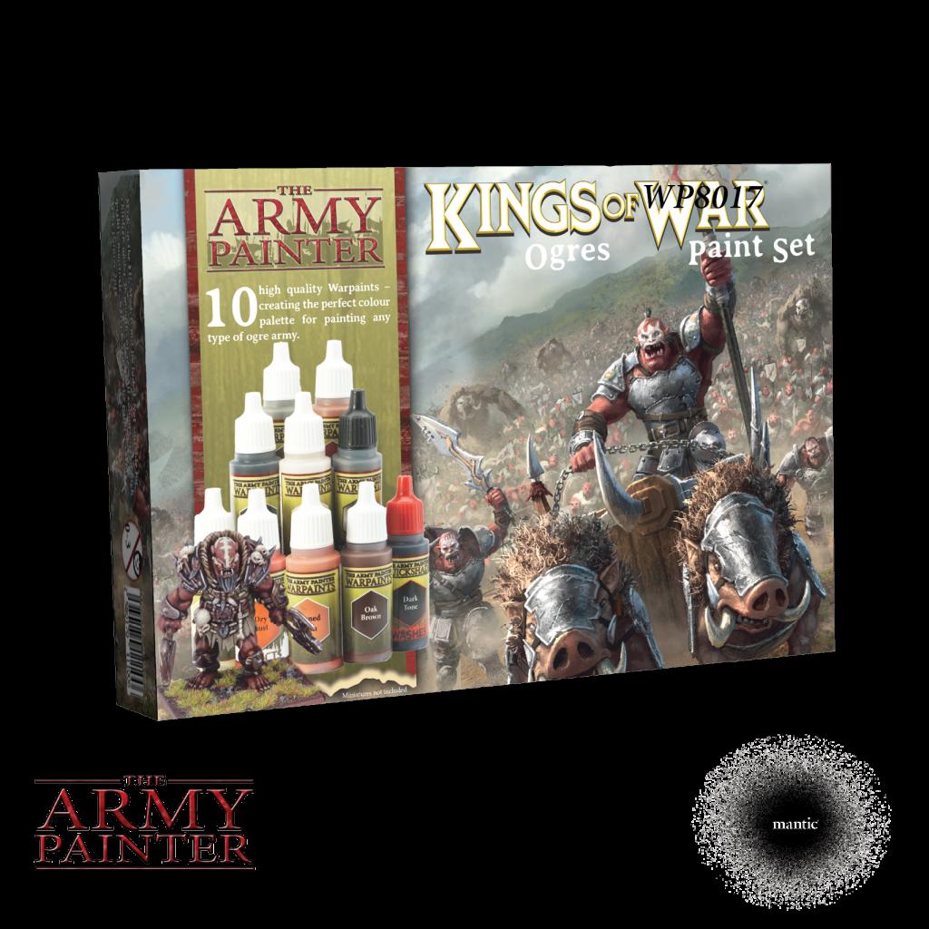 Army Painter Warpaints Ogres Paint Set