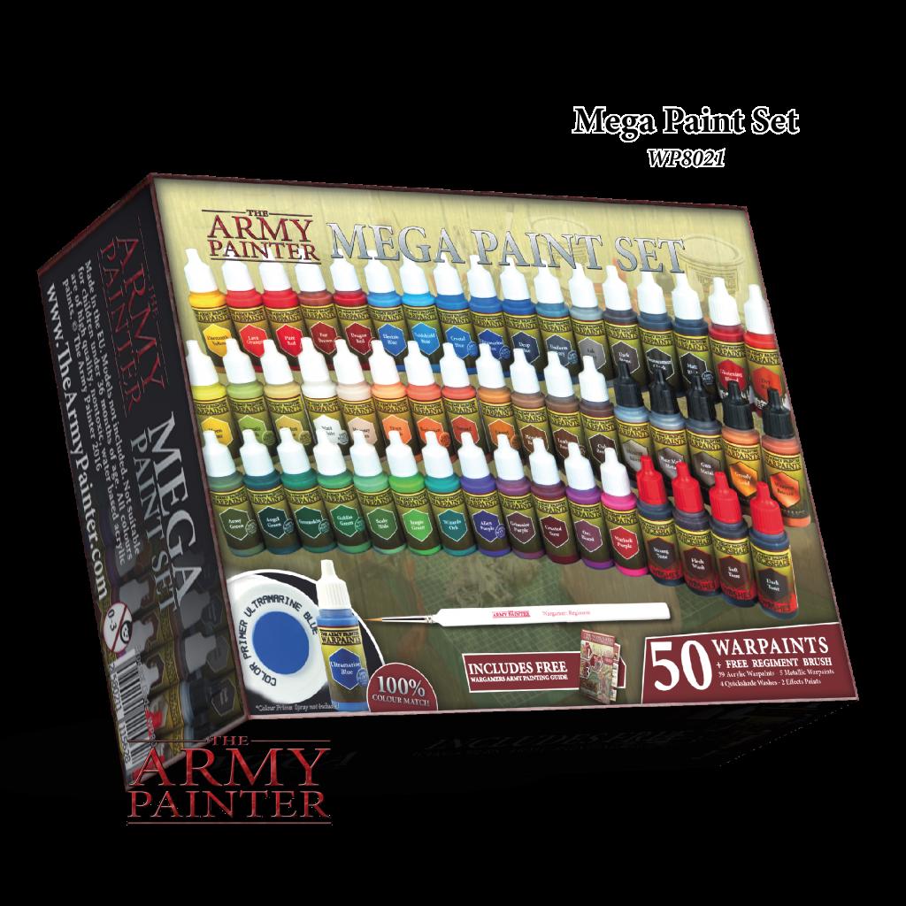 Army Painter Warpaints Mega Paint Set 2017