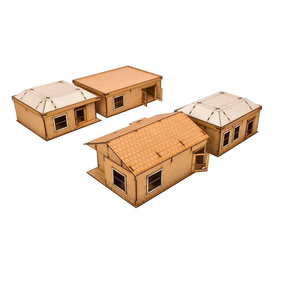 The Walking Dead Woodbury Housing Estate