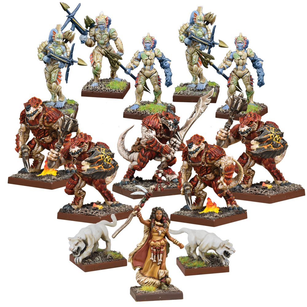 Force of Nature Warband Set