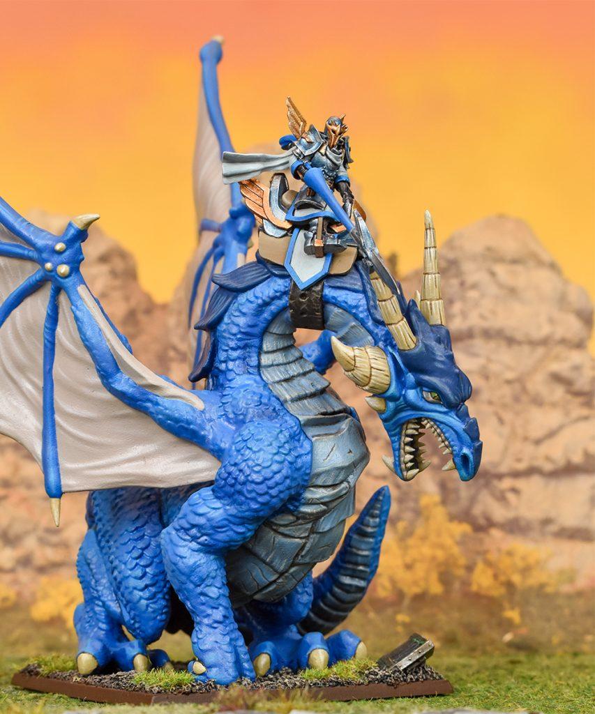 Basilean High Paladin on Dragon