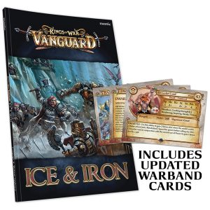 Vanguard: Ice and Iron with updated Warband cards