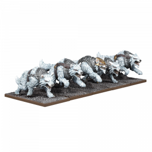 Kings of War Tundra Wolves Troop