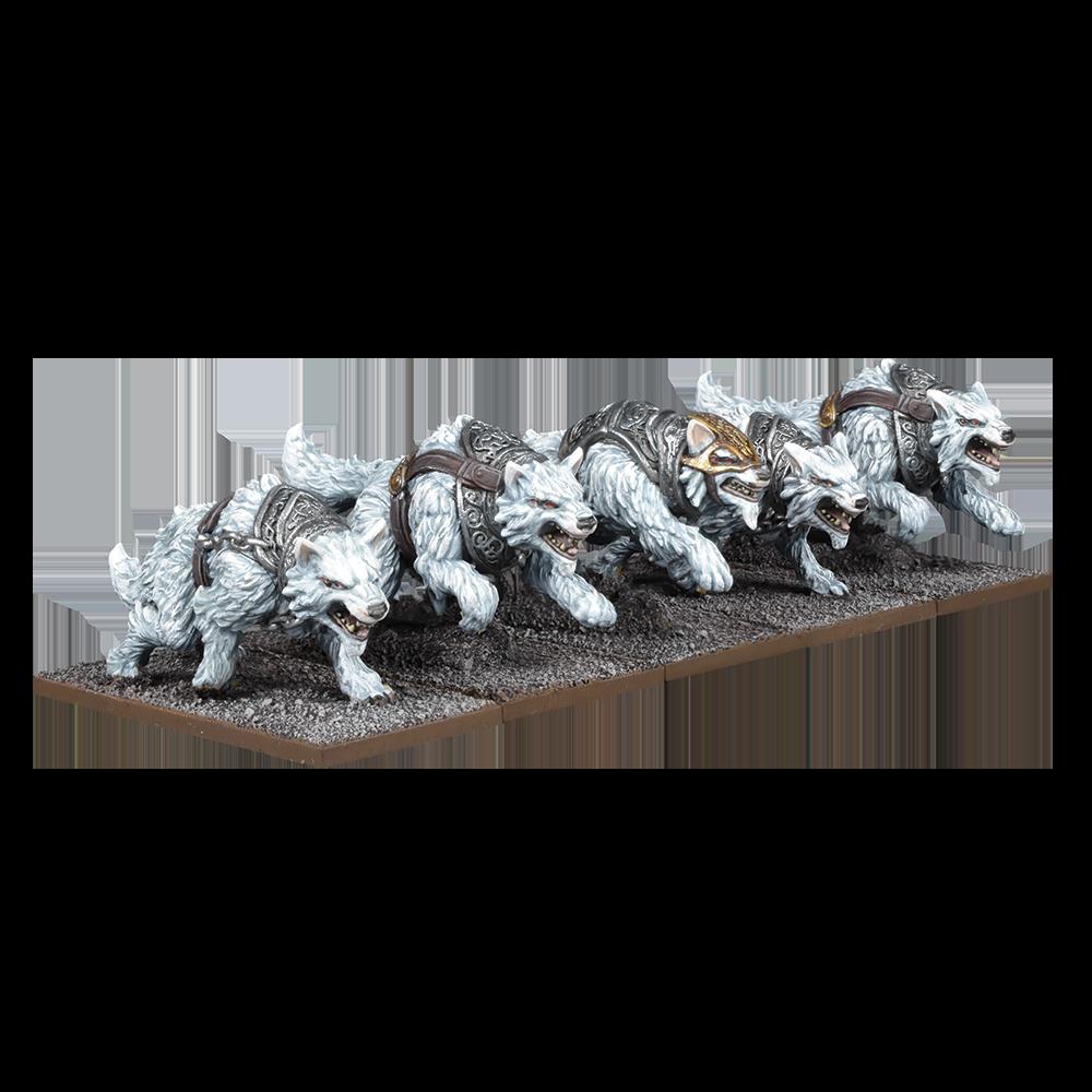 Kings of War Tundra Wolves Troop