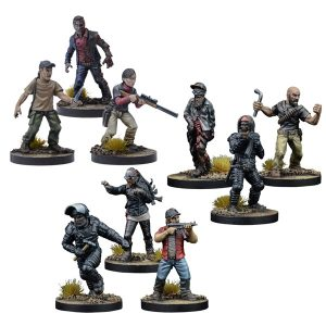 The Walking Dead: Wave Four Retail Exclusives Bundle