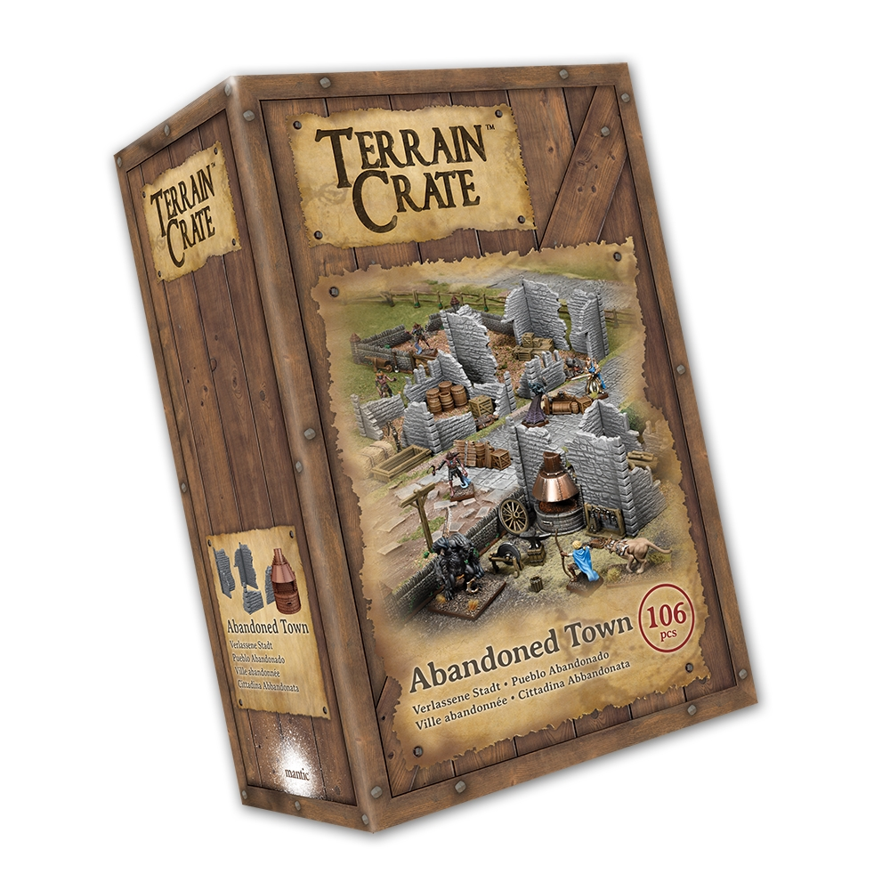 Terraincrate: Abandoned Town