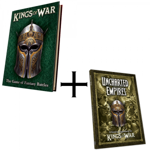 Kings of War Third Edition Rulebook and Uncharted Empires Bundle